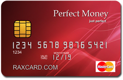 perfect money card